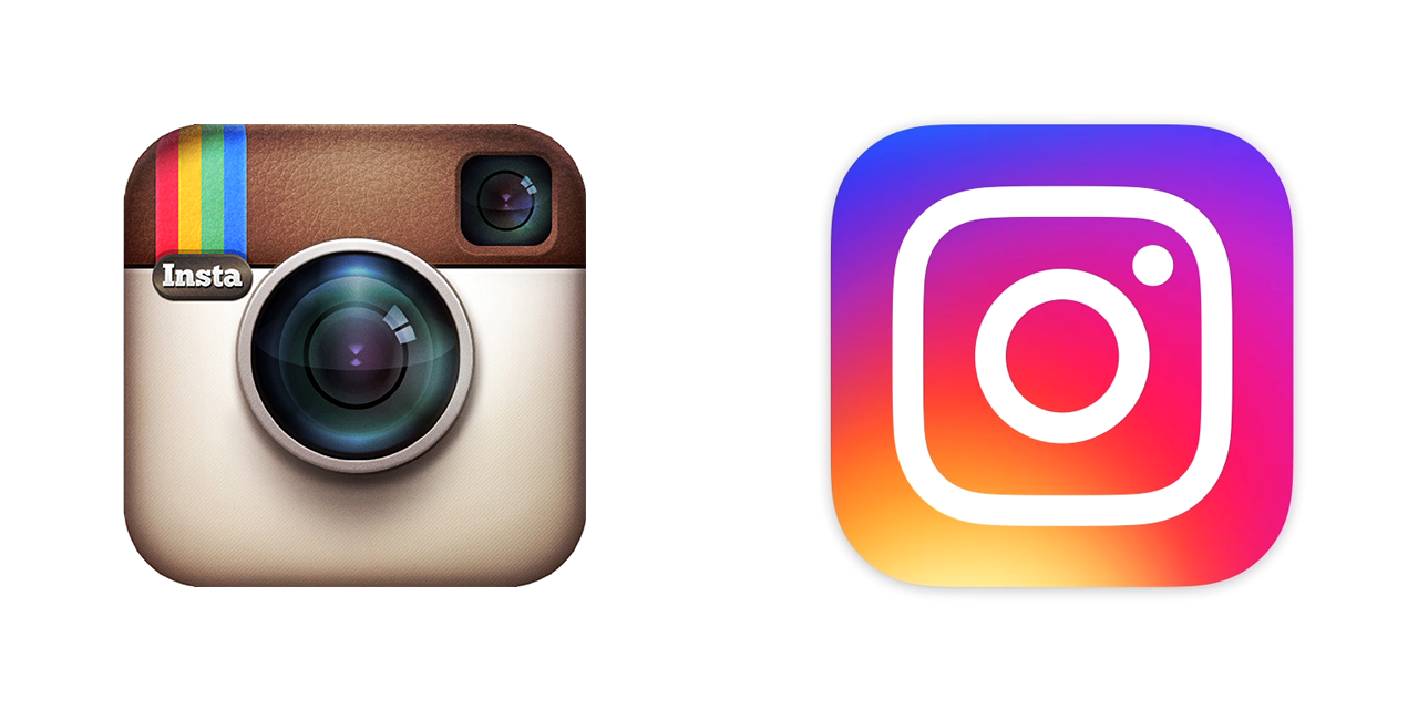 Instagram app icons